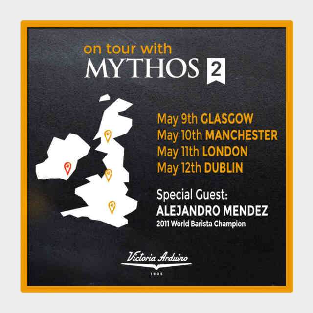 On Tour with Mythos II Event - Saturday, 12th May at 12pm
